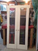 Solid wood/glass French doors