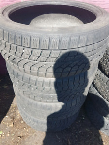 "4 winter tires 18 "" for sale"