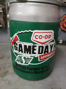 Sask roughriders cooler