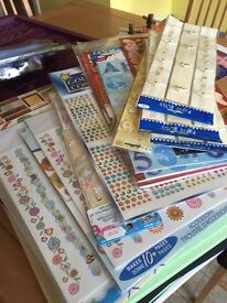 Craft Room Clearance. Card making and jewellery making items from 50p