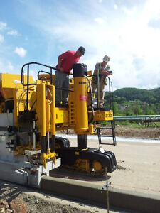 Slipform Consulting Gomaco Power curber Wirtgen Miller Easi Prince George British Columbia image 1