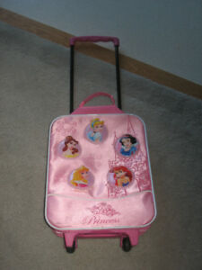 Princess suitcase for kids.