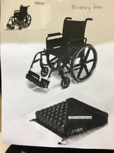 "WHEELCHAIR - ""Breezy 600"" model"