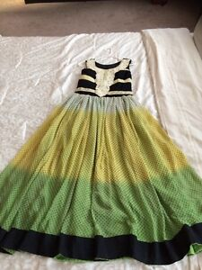 Fusion Indian-western dress (size 2-6)
