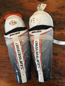 Bauer Supreme One 60 Hockey Shin Pads - 13.0