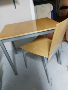 Ikea table/desk and chair