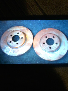 2010 dodge charger front rotors  Need gone