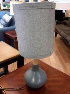 *** NEW *** ASHLEY STACIA GRAY LAMP (2/CN)   S/N:51255269   #STORE523