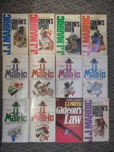 J J  MARRIC BOOKS (AKA JOHN CREASY) 12 BOOKS