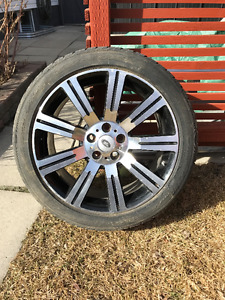 Range Rover Sport tires and rims - 20 Inch
