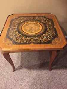 Antique games table!
