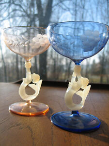 Vintage Crystal Bimini Glasses