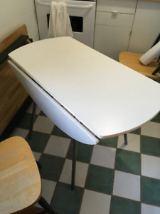Foldable Kitchen Table FOR SALE - $50 OBO