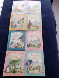 Lovely set of 8 Winnie the Pooh and Friends books