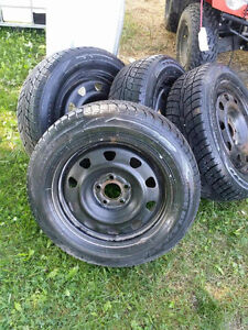 Like new snow tires
