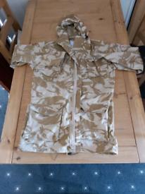 Military combat jacket