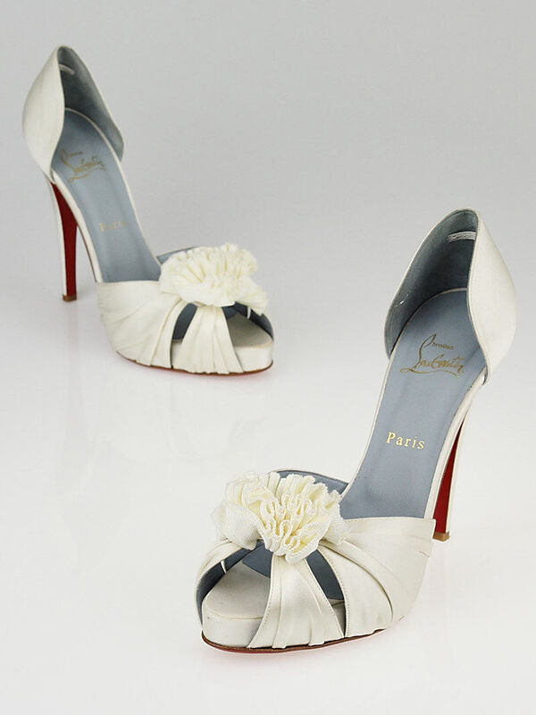 christian louboutin wedding shoes ebay