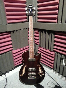 PRICE DROP -- Ibanez AGB200 Semi Hollow Short Scale Bass