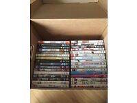 **reduced to £30***Over 100 DVDs and various box sets