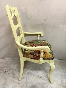 548: Fun Vintage Solid Wood Armchair With Caning Detail Oakville / Halton Region Toronto (GTA) image 2