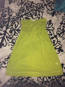Green Abercrombie and Fitch dress small
