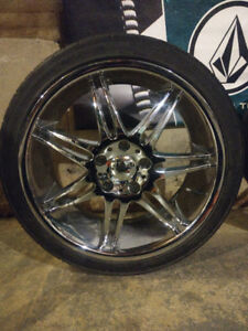 "18"" Driv chrome rims for sale"