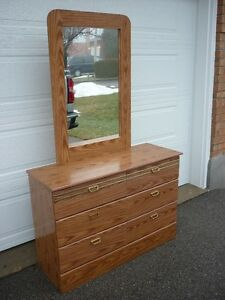 Dresser with Mirror - Six Drawer