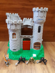 Château forteresse Fisher price.