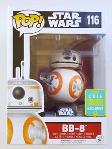 Funko Pop! Star Wars BB-8 (Thumbs Up) 2016 SDCC Exclusive