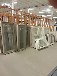 Vinyl Windows Discounted Stock