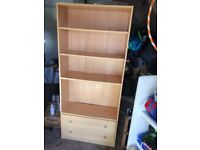 Bookcase / clothes storage / garage storage £5