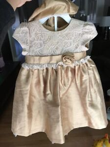 Wendy Bellissimo Baby Girl Holiday Dress 12 month