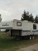 Catalina 5th wheel trailer