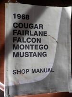 1968 Ford and Chilton Shop Manuals