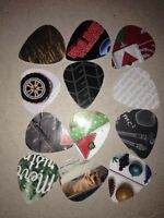 Recycled Guitar picks for Charity $2 for 10