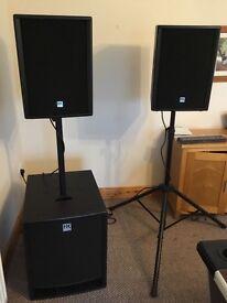 HK Audio 2kW PA system