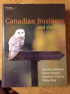 Canadian Business and the Law Duplessis 5th Edition