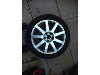 Audi or Volkswagen Alloy Wheel