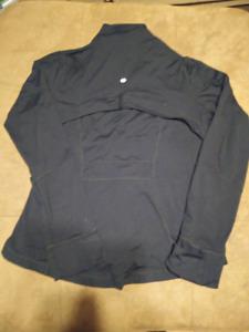 $15$ Lululemon Sweater/Jacket Black (Size 12)