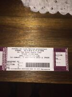 2 Tickets One Direction Sept 5 Olympic Stadium