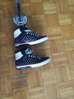 Adidas high top sneakers unisex size 40 for 60$