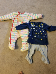 Baby girl clothes...gently used.. 3-6 month old baby