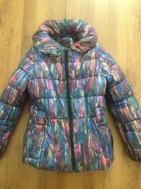 CATIMINI girls winter coat in excellent condition age 8 but more fit for 5 yrs