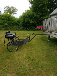 Pony cart and harness  in mint condition $500 abo