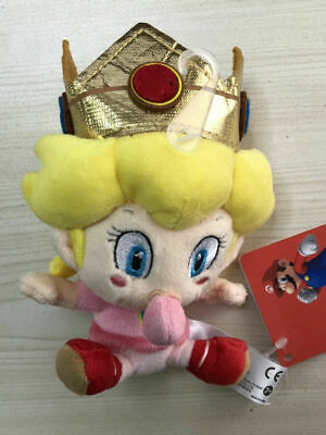 Super Mario Baby Princess Peach Plush 5 inch Plush Stuffed Animal Lovely - Baby Peach Mario