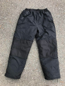 Insulated winter pants