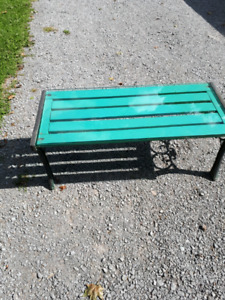 Decorative bench/table