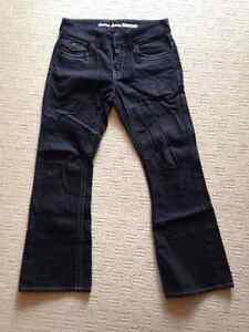 "GUESS BLACK JEANS ""RANCHO"" - MEN - W31 L30"