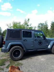 2015 premium Wrangler unlimted soft top