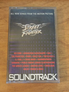 Street Fighter Motion Picture SoundTrack